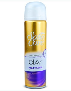 Gillette Satin Care - Olay Violet Swirl Shave Gel 200 ml