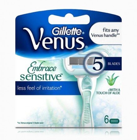 Venus Embrace Sensitive 6 blader