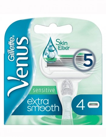 Venus Extra Smooth Sensitive - 4 blader